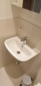 Altes Badezimmer komplett sanieren lassen.