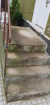 Alte Treppe Eingansbereich.