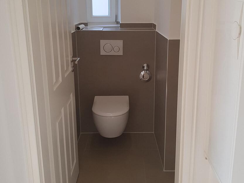 Neues Gäste WC fertig renoviert.