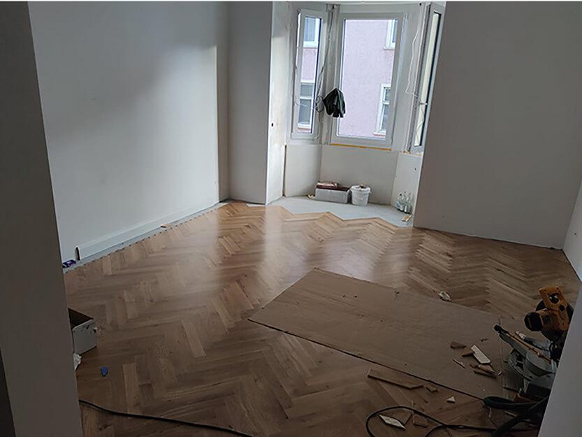 Wohnung komplett renovieren lassen, handwerkliche Arbeiten.